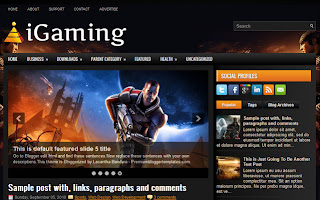 Blogger İgaming Oyun Teması