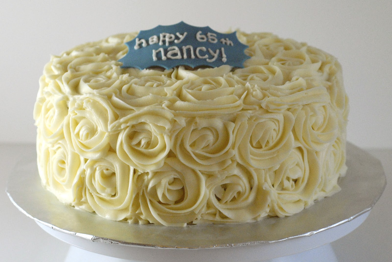 Night Baking: nancy's two-cake birthday celebration!