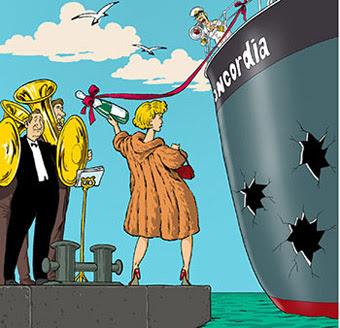 Женщина и судно