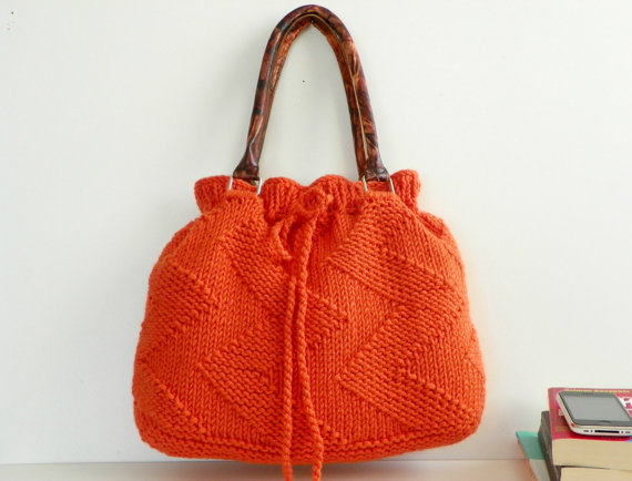 Someday Come Soon: ETSY LOVE: KNITTED BAGS