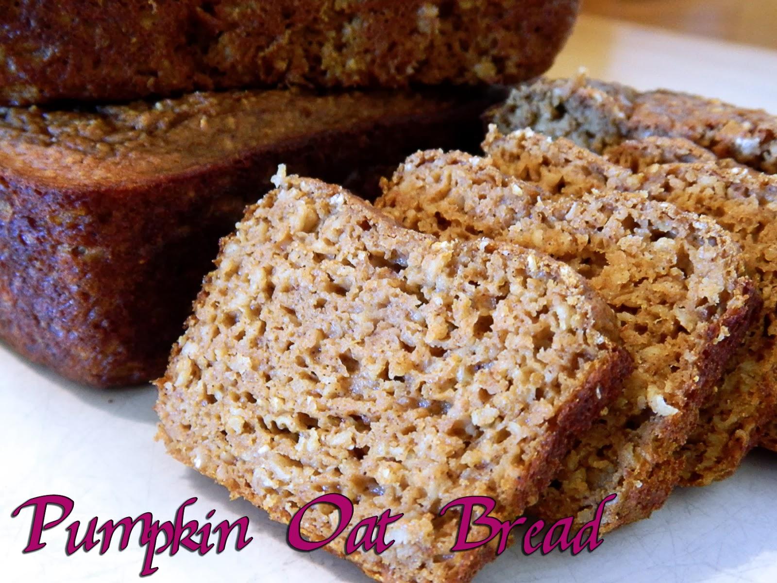 Eating Bariatric: Pumpkin Oat Bread