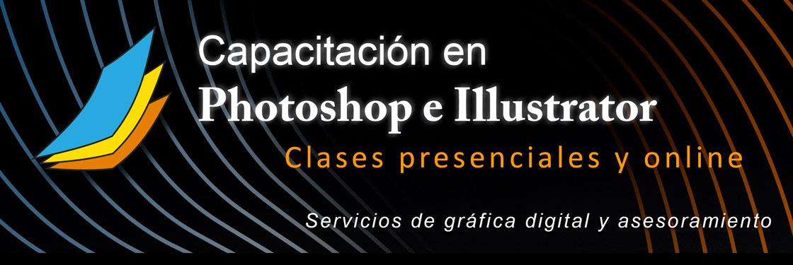2018 - Cursos de Photoshop - Illustrator. Capacitación en imagen digital / Servicios