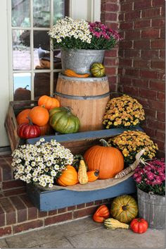 front of house decor ideas for fall