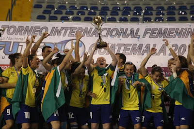 FÚTBOL SALA - Mundial femenino 2015 (Guatemala). Brasil hexacampeona del mundo ante Rusia. España se cuelga el bronce