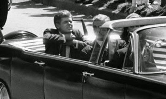 President John F. Kennedy meets his maker after standing up to America's Deep State.
