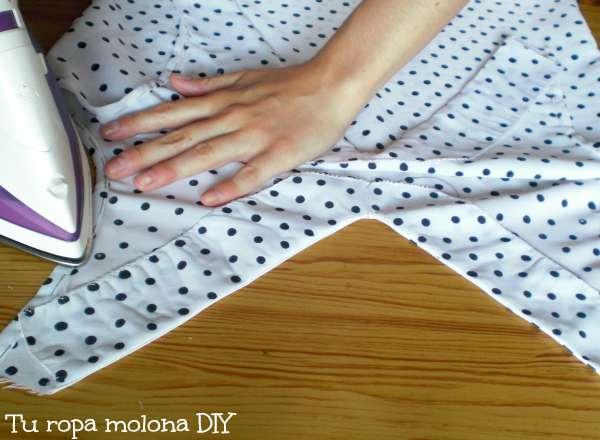 Terminar costuras y planchar