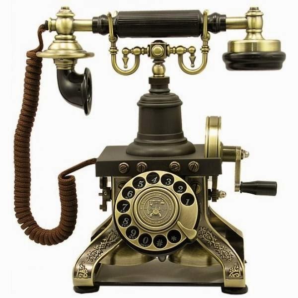 Ретро телефон A1892ER в виде Эйфелевой башни с современным функционалом для любого интерьера