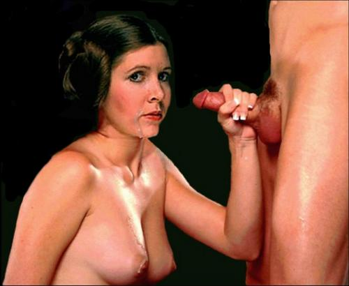 star wars carrie fisher porn
