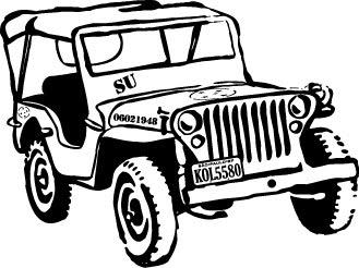 Jeeps e Veículos Militares Antigos