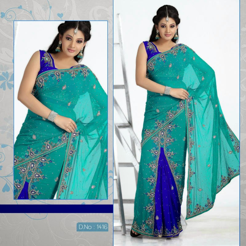 Latest Party wear Saree Designs