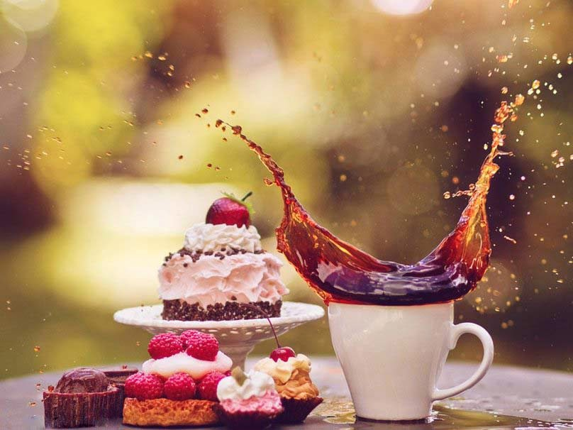 Cake Images Good Morning : Allfreshwallpaper: Lovely and Beautiful Good Morning ...