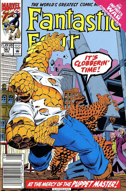 Fantastic Four 367 cover