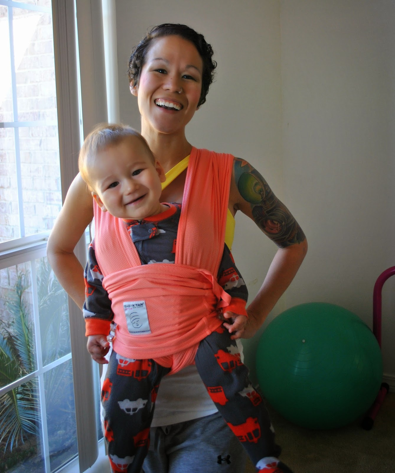 Diary Of A Fit Mommy I Love Babywearing With My Baby Ktan Carrier