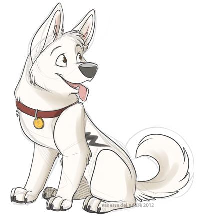 Bolt The Dog Drawings Wwwimgarcadecom Online Image