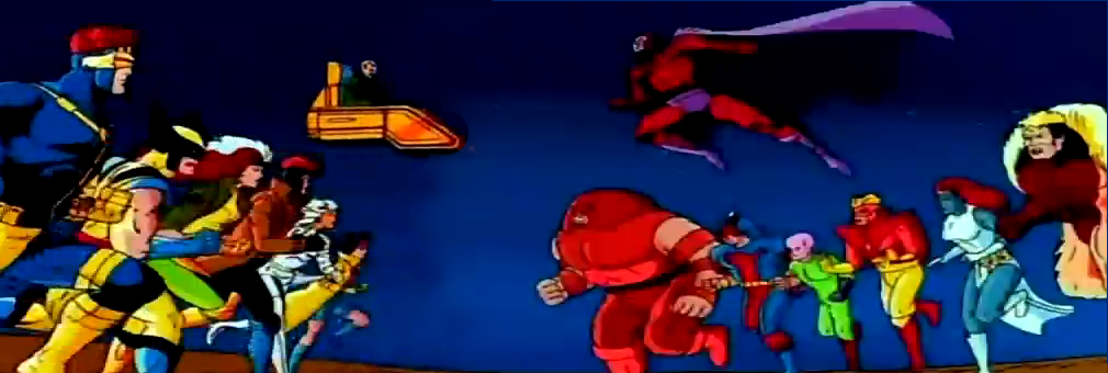X-Men The Animated Series Mutants vs Mutants 90's Retro Cartoons Aired in ABS-CBN
