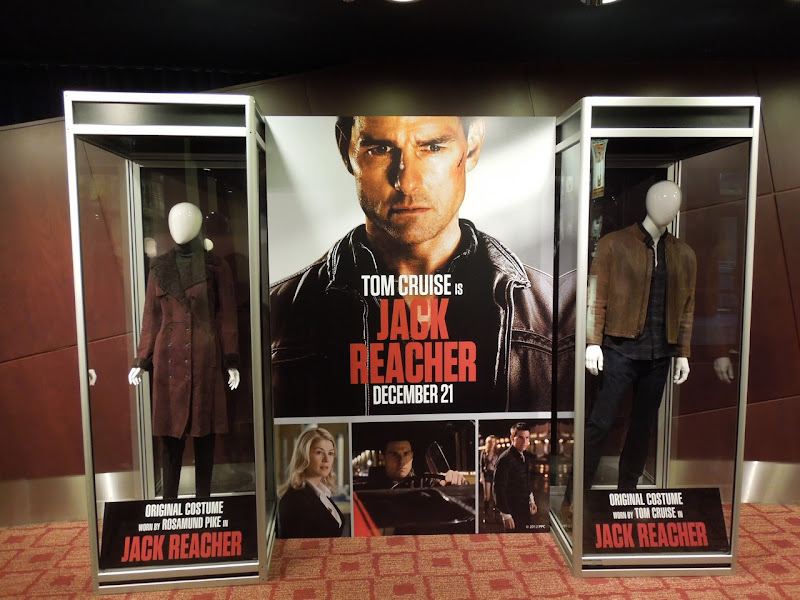 Jack Reacher movie costumes ArcLight Sherman Oaks