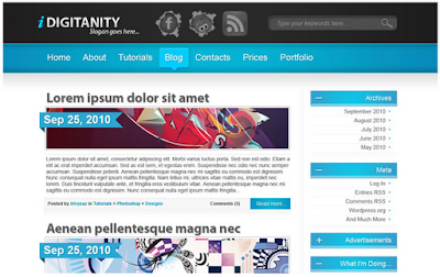 Tutorial Desain Web dan Template Gratis | Share Creativity™