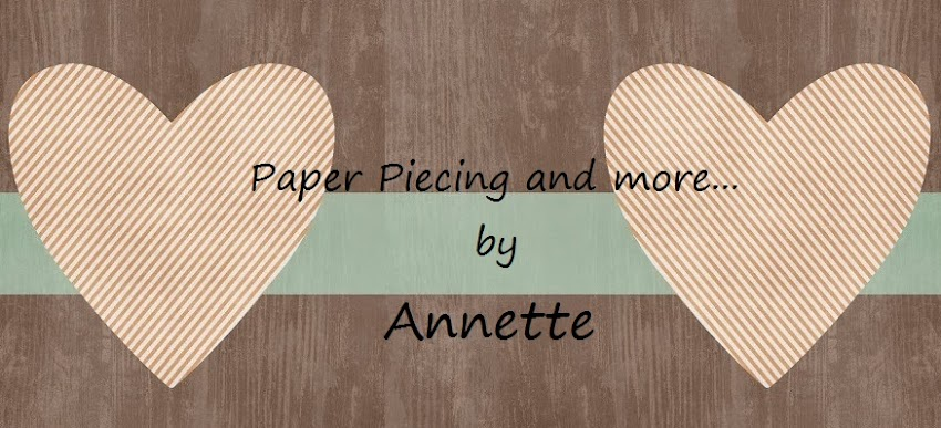 Paper Piecing by Annette