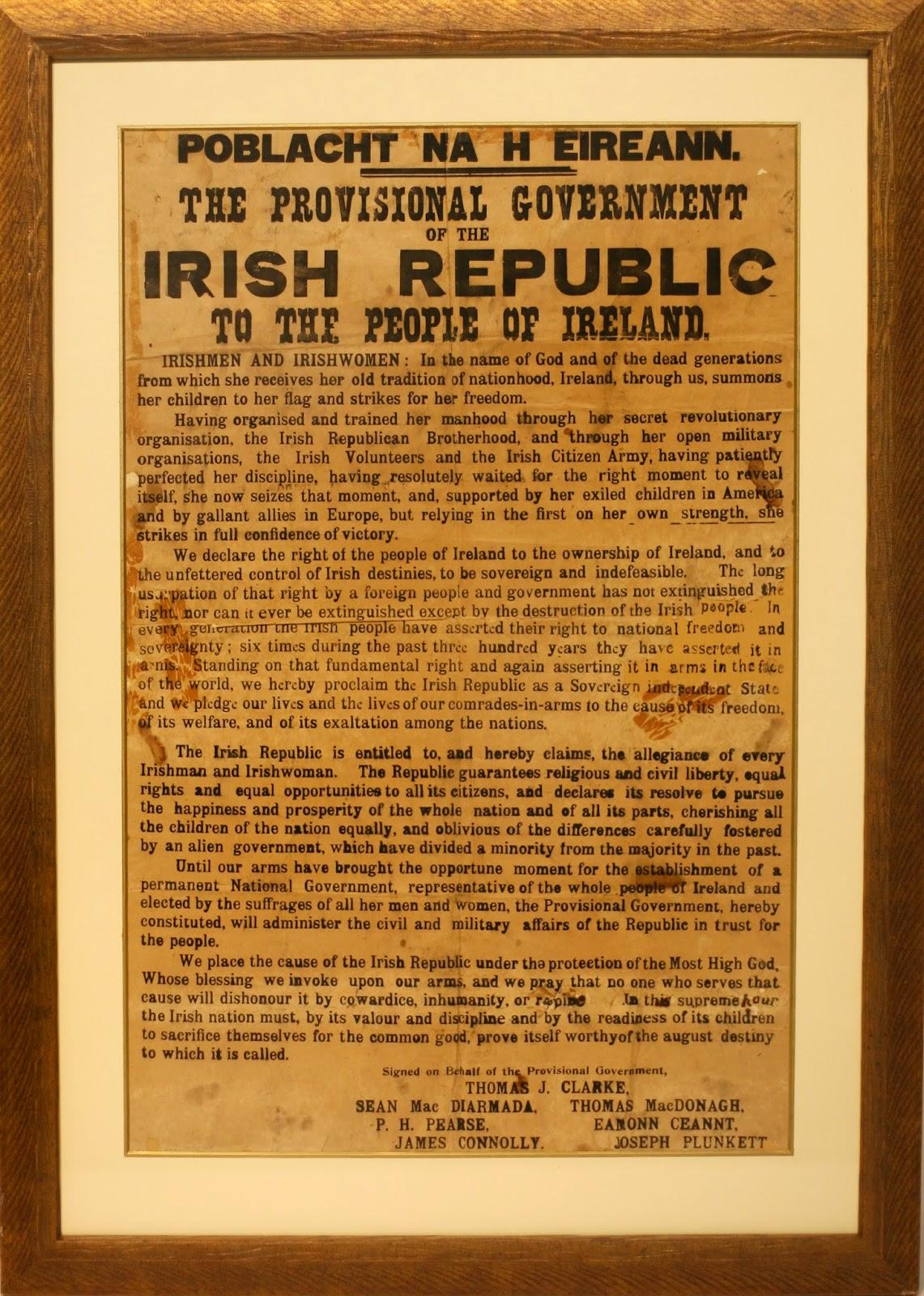 1916 rising Enda Kenny Statement