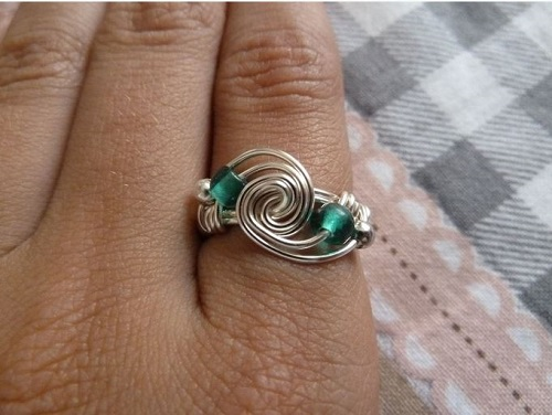 Wire Wrapped Ring Tutorial : A collection of wire wrapped rings tutorials the