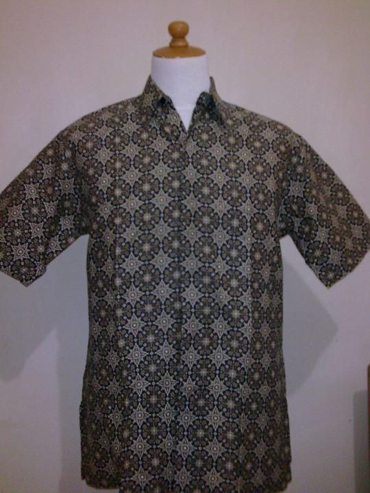 Model Baju Batik Kerja 2011 Gambar Desain Pakaian Batik Kantor Modern