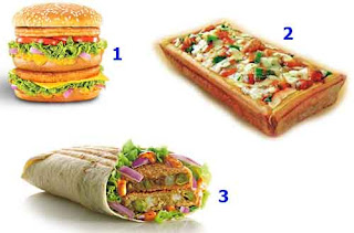 McDonald's India items