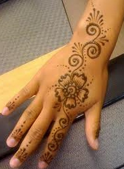 Easy Mehndi Designs For Hands Photos Makedes Com