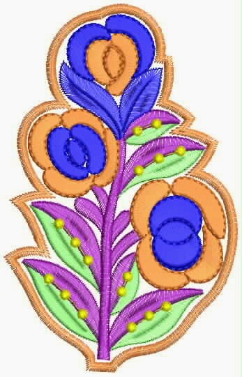 blom patroon kwilt