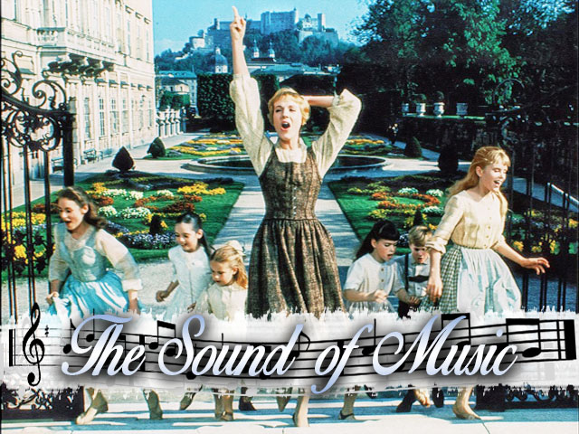 Image result for sound of music mirabell gardens