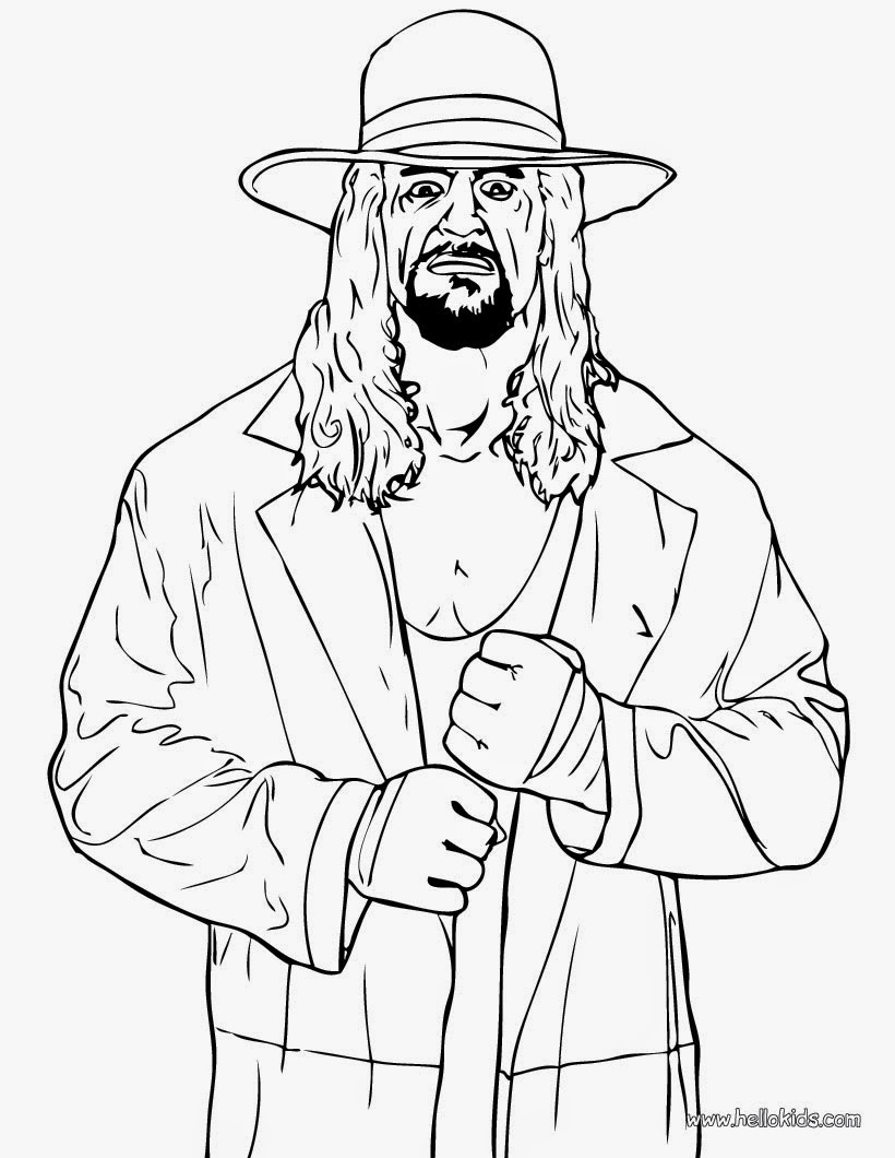 undertaker coloring pages instant knowledge