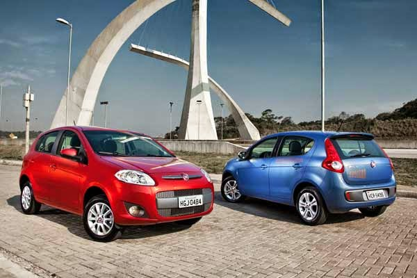 Fiat Palio 2014 mais vendido do Brasil