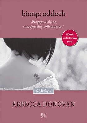 """Rebecca Donovan - """"Biorąc oddech"""""""