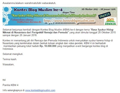 kontes blog muslim 4