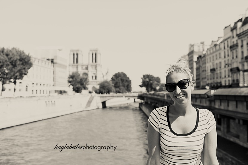 canals in paris photo