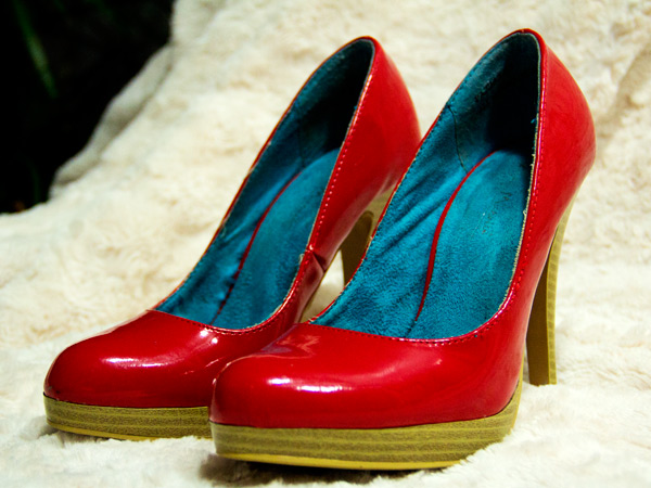 Red pumps, Red pumps from Cest La Vie Consignmennt