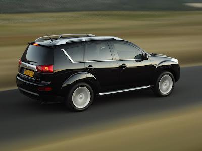 Peugeot 4007 test drive 2011