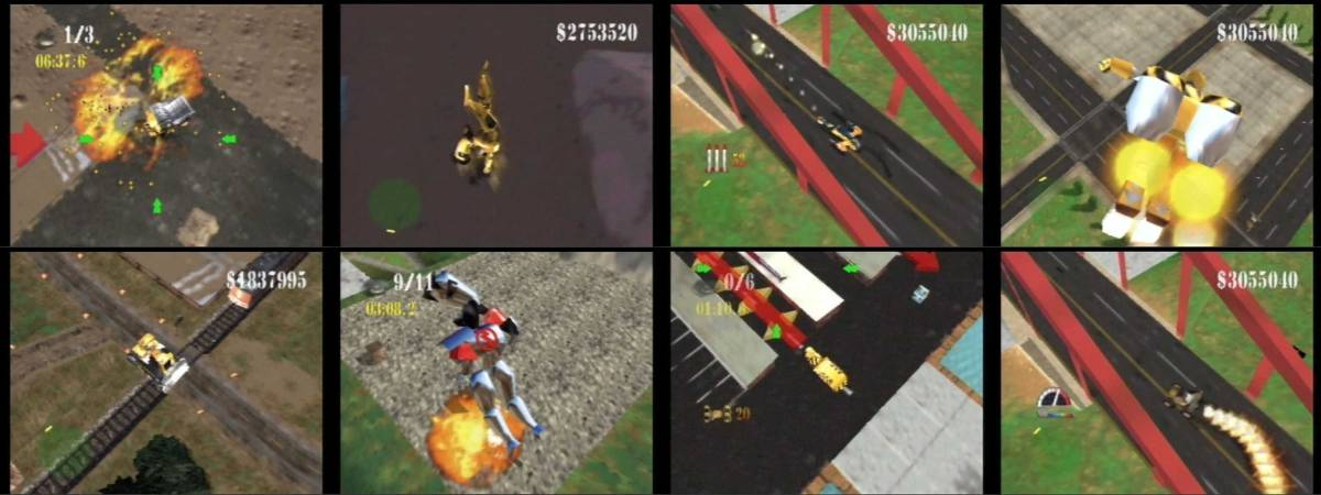 Strawberry Dragon Project: N64 Month: Blast Corps