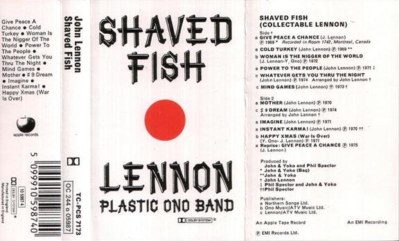 Lucidsportsfan 2013 01 27 for John lennon shaved fish