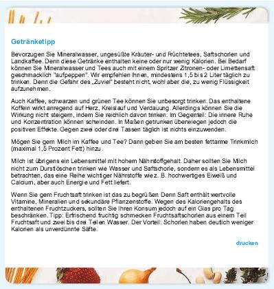 Rubes Testblog Mein Diatplan Und Nestle Ernahrungsstudio Getranketipps