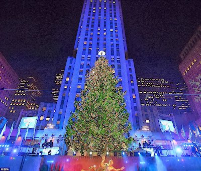 Christmas In New York City 2013 Rockefeller Tree Dinner