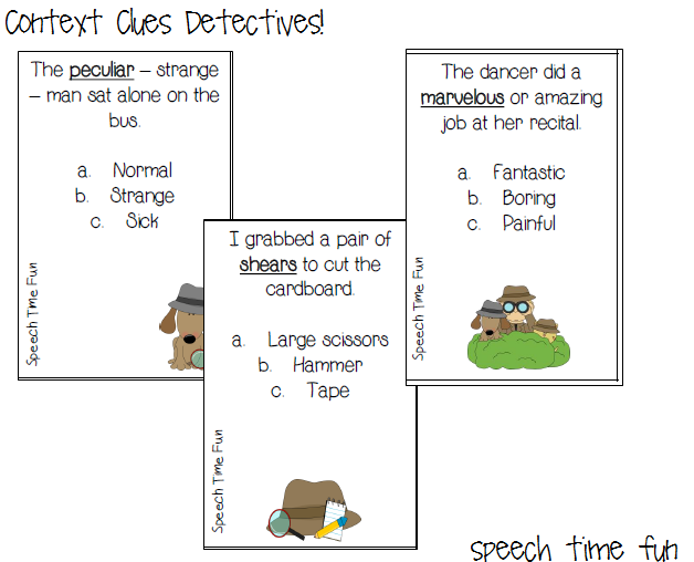 Context Clues Detectives!