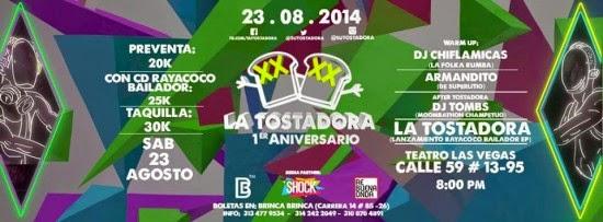 La Tostadora celebra su primer aniversario