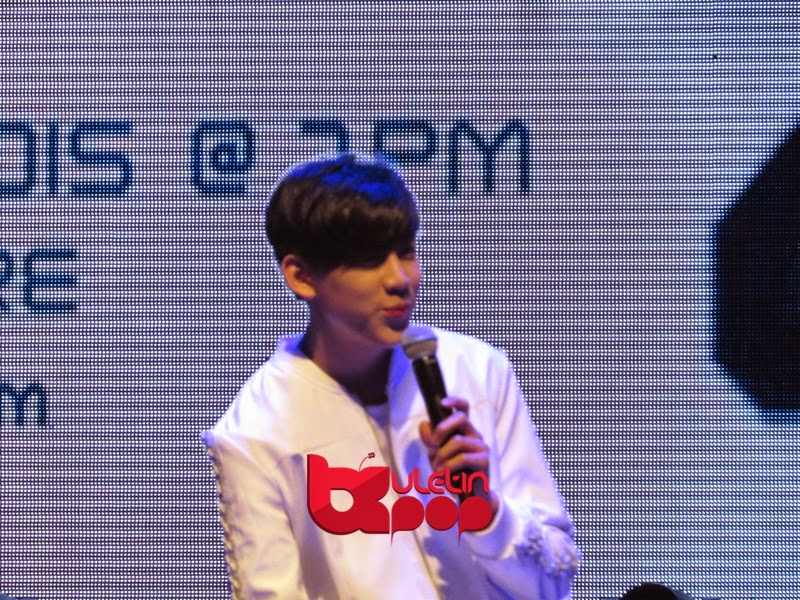 GOT7, Singapura, fan meeting, 2015, Bambam