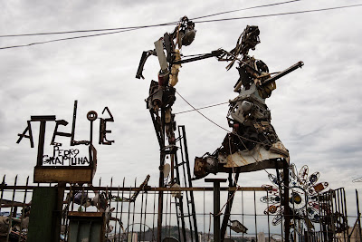 Art, Brazil, Creation, FIFA World Cup, Iron, Material, Pedro Grapiuna, Recycled, Rio, Santa Teresa, Sculpture, Sculptures, Tram, Death, Passenger, Accident,
