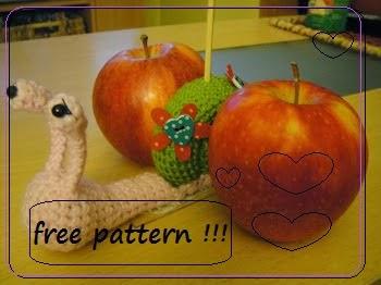 Crochet snail - free pattern !!!