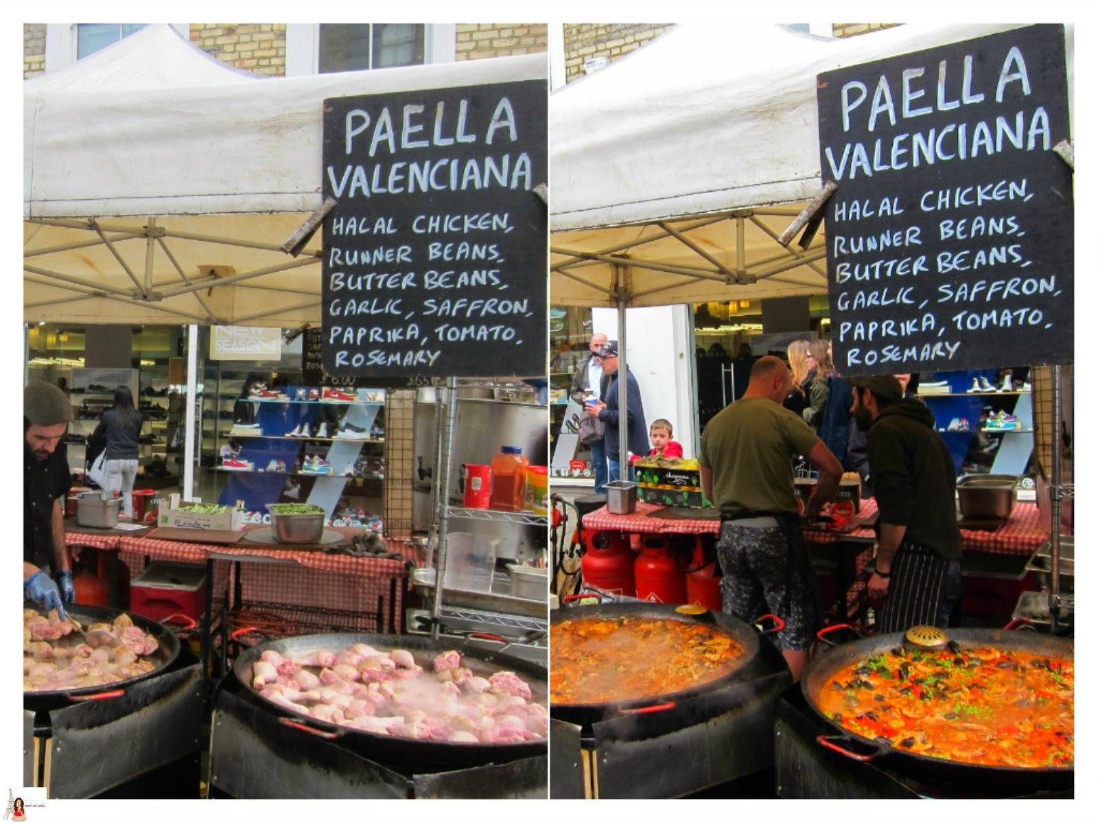 Portobello Market Food Stall Rent