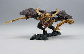 Citadel Miniatures BME-3 Balrog for LOTR - Face-on view