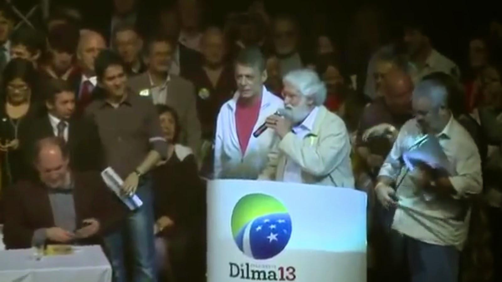 Chico Buarque & Leonardo Boff, October 2010.