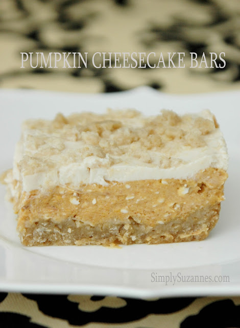 These Pumpkin Cheesecake Bars rival that of the famous Pumpkin Gooey ...