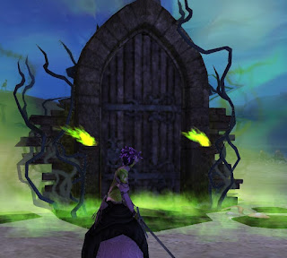 GW2 Guild Wars 2 Shadow the Mad King Halloween haunted door